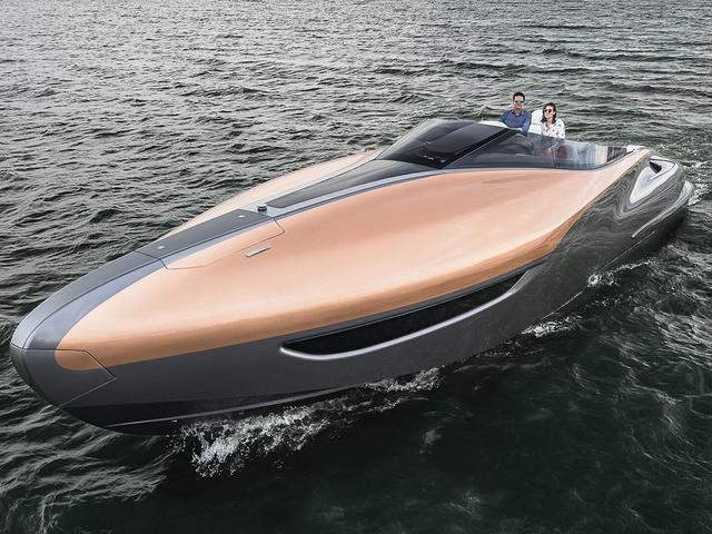 豪车品牌怎么都爱不务正业,兰博基尼游艇了解下?