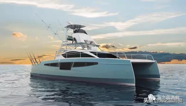 Comet cat 40双体钓鱼艇,世界级钓鱼冠军的梦想座驾