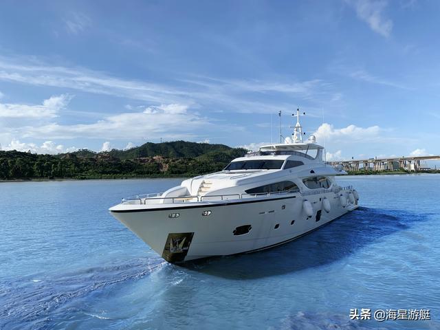 中国海星第十艘Asteria 108超级游艇成功交付至香港