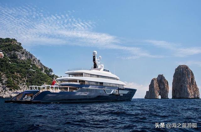 展艇品鉴:斐帝星87米超级游艇Lonian号